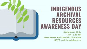 Indigenous Archival Resources Awareness Day