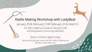 Rattle making Workshop with LadyBear
