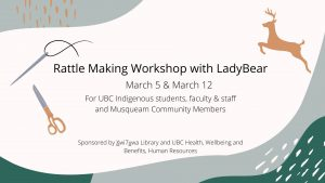 Rattle making Workshop with LadyBear