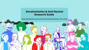 NEW Decolonization & Anti-Racism Research Guide