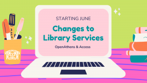 Changes to Library Services: Access Online Resources Using Your CWL & OpenAthens